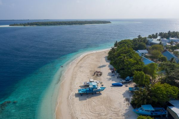 Maahlos Eco Centro Drone Morning Soneav Fushi by Julia Neeson 5